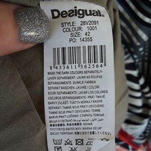 Desigual Dresses - Desigual retro 70s fit and flare dress size 42 / L